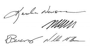 Founding Director Signatures